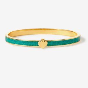 Kate Spade Textured Thin Bangle Bracelet